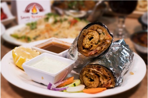 Chicken Seekh Kabab Roll